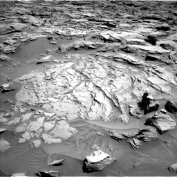 Nasa's Mars rover Curiosity acquired this image using its Left Navigation Camera on Sol 1283, at drive 1722, site number 53