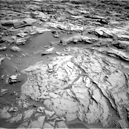 Nasa's Mars rover Curiosity acquired this image using its Left Navigation Camera on Sol 1283, at drive 1728, site number 53