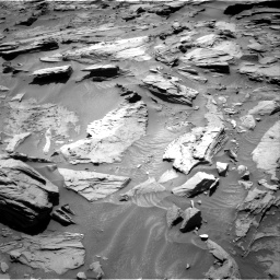 Nasa's Mars rover Curiosity acquired this image using its Right Navigation Camera on Sol 1283, at drive 1482, site number 53
