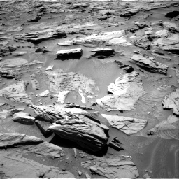 Nasa's Mars rover Curiosity acquired this image using its Right Navigation Camera on Sol 1283, at drive 1488, site number 53
