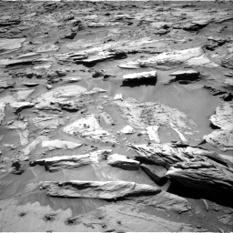 Nasa's Mars rover Curiosity acquired this image using its Right Navigation Camera on Sol 1283, at drive 1494, site number 53