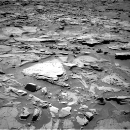 Nasa's Mars rover Curiosity acquired this image using its Right Navigation Camera on Sol 1283, at drive 1506, site number 53