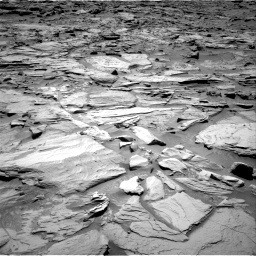 Nasa's Mars rover Curiosity acquired this image using its Right Navigation Camera on Sol 1283, at drive 1518, site number 53