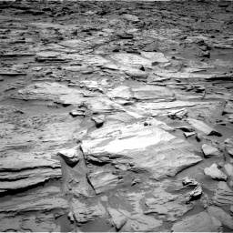 Nasa's Mars rover Curiosity acquired this image using its Right Navigation Camera on Sol 1283, at drive 1524, site number 53
