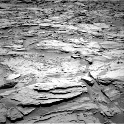 Nasa's Mars rover Curiosity acquired this image using its Right Navigation Camera on Sol 1283, at drive 1530, site number 53
