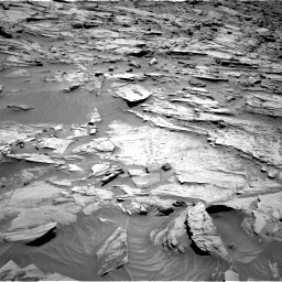 Nasa's Mars rover Curiosity acquired this image using its Right Navigation Camera on Sol 1283, at drive 1548, site number 53