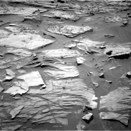 Nasa's Mars rover Curiosity acquired this image using its Right Navigation Camera on Sol 1283, at drive 1572, site number 53