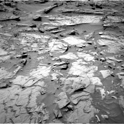 Nasa's Mars rover Curiosity acquired this image using its Right Navigation Camera on Sol 1283, at drive 1614, site number 53