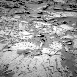 Nasa's Mars rover Curiosity acquired this image using its Right Navigation Camera on Sol 1283, at drive 1620, site number 53