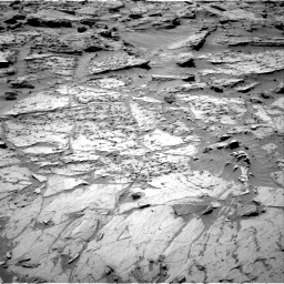 Nasa's Mars rover Curiosity acquired this image using its Right Navigation Camera on Sol 1283, at drive 1626, site number 53