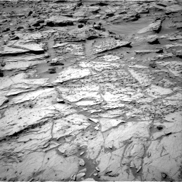 Nasa's Mars rover Curiosity acquired this image using its Right Navigation Camera on Sol 1283, at drive 1632, site number 53