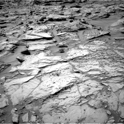 Nasa's Mars rover Curiosity acquired this image using its Right Navigation Camera on Sol 1283, at drive 1638, site number 53