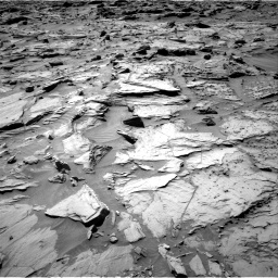 Nasa's Mars rover Curiosity acquired this image using its Right Navigation Camera on Sol 1283, at drive 1644, site number 53
