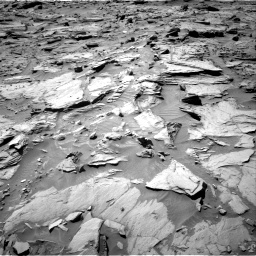 Nasa's Mars rover Curiosity acquired this image using its Right Navigation Camera on Sol 1283, at drive 1650, site number 53