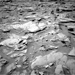 Nasa's Mars rover Curiosity acquired this image using its Right Navigation Camera on Sol 1283, at drive 1656, site number 53