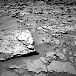 Nasa's Mars rover Curiosity acquired this image using its Right Navigation Camera on Sol 1283, at drive 1674, site number 53