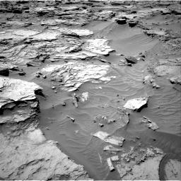 Nasa's Mars rover Curiosity acquired this image using its Right Navigation Camera on Sol 1283, at drive 1698, site number 53