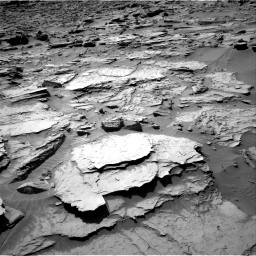 Nasa's Mars rover Curiosity acquired this image using its Right Navigation Camera on Sol 1283, at drive 1716, site number 53