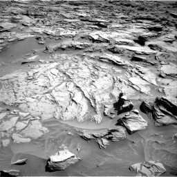 Nasa's Mars rover Curiosity acquired this image using its Right Navigation Camera on Sol 1283, at drive 1722, site number 53