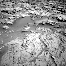 Nasa's Mars rover Curiosity acquired this image using its Right Navigation Camera on Sol 1283, at drive 1734, site number 53