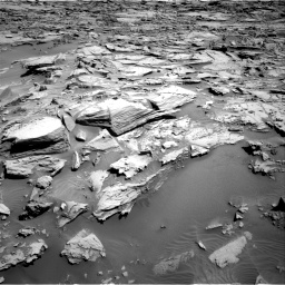Nasa's Mars rover Curiosity acquired this image using its Right Navigation Camera on Sol 1283, at drive 1746, site number 53