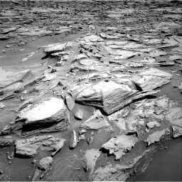 Nasa's Mars rover Curiosity acquired this image using its Right Navigation Camera on Sol 1283, at drive 1752, site number 53