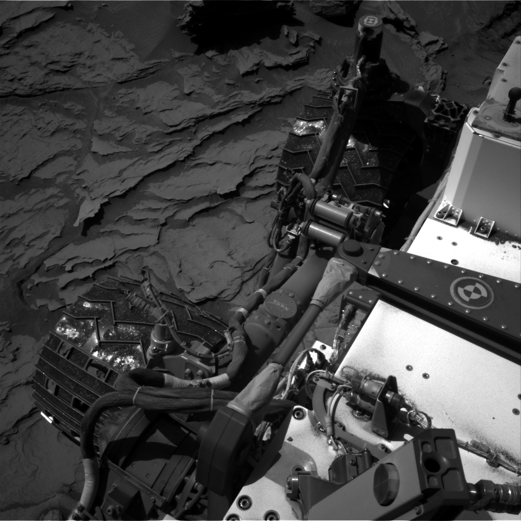 Nasa's Mars rover Curiosity acquired this image using its Right Navigation Camera on Sol 1283, at drive 1756, site number 53