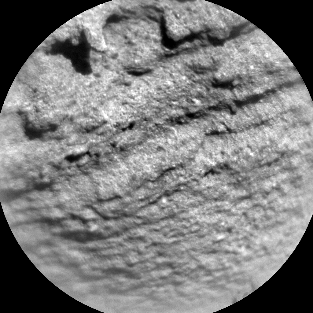 Nasa's Mars rover Curiosity acquired this image using its Chemistry & Camera (ChemCam) on Sol 1283, at drive 1470, site number 53