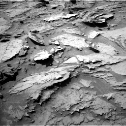 Nasa's Mars rover Curiosity acquired this image using its Left Navigation Camera on Sol 1284, at drive 1780, site number 53