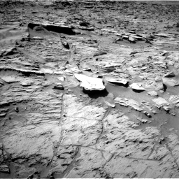 Nasa's Mars rover Curiosity acquired this image using its Left Navigation Camera on Sol 1284, at drive 1888, site number 53