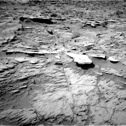 Nasa's Mars rover Curiosity acquired this image using its Left Navigation Camera on Sol 1284, at drive 1894, site number 53
