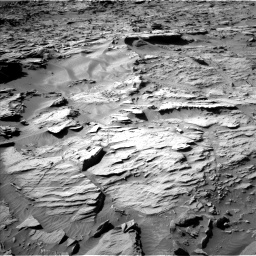 Nasa's Mars rover Curiosity acquired this image using its Left Navigation Camera on Sol 1284, at drive 1906, site number 53