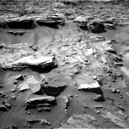 Nasa's Mars rover Curiosity acquired this image using its Left Navigation Camera on Sol 1284, at drive 1924, site number 53