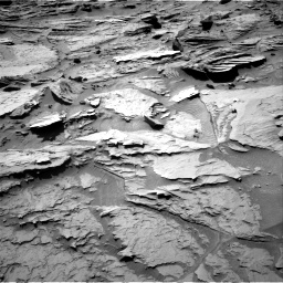 Nasa's Mars rover Curiosity acquired this image using its Right Navigation Camera on Sol 1284, at drive 1768, site number 53