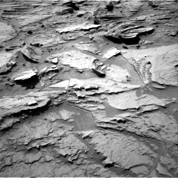 Nasa's Mars rover Curiosity acquired this image using its Right Navigation Camera on Sol 1284, at drive 1774, site number 53