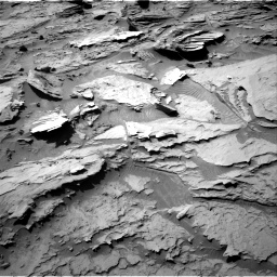 Nasa's Mars rover Curiosity acquired this image using its Right Navigation Camera on Sol 1284, at drive 1780, site number 53