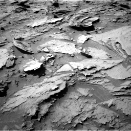 Nasa's Mars rover Curiosity acquired this image using its Right Navigation Camera on Sol 1284, at drive 1786, site number 53