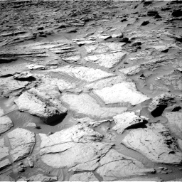 Nasa's Mars rover Curiosity acquired this image using its Right Navigation Camera on Sol 1284, at drive 1810, site number 53
