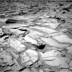 Nasa's Mars rover Curiosity acquired this image using its Right Navigation Camera on Sol 1284, at drive 1816, site number 53