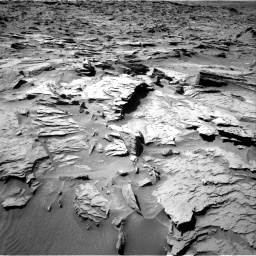 Nasa's Mars rover Curiosity acquired this image using its Right Navigation Camera on Sol 1284, at drive 1846, site number 53