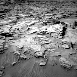 Nasa's Mars rover Curiosity acquired this image using its Right Navigation Camera on Sol 1284, at drive 1852, site number 53