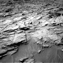 Nasa's Mars rover Curiosity acquired this image using its Right Navigation Camera on Sol 1284, at drive 1858, site number 53