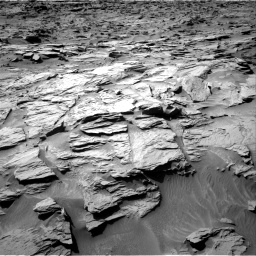 Nasa's Mars rover Curiosity acquired this image using its Right Navigation Camera on Sol 1284, at drive 1864, site number 53