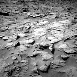 Nasa's Mars rover Curiosity acquired this image using its Right Navigation Camera on Sol 1284, at drive 1876, site number 53