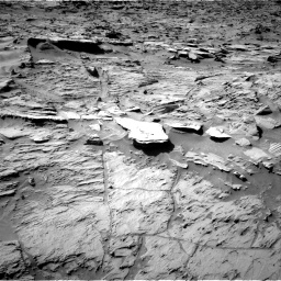 Nasa's Mars rover Curiosity acquired this image using its Right Navigation Camera on Sol 1284, at drive 1894, site number 53