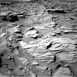 Nasa's Mars rover Curiosity acquired this image using its Right Navigation Camera on Sol 1284, at drive 1912, site number 53