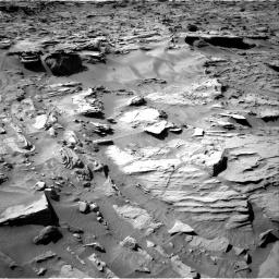 Nasa's Mars rover Curiosity acquired this image using its Right Navigation Camera on Sol 1284, at drive 1918, site number 53
