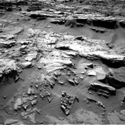 Nasa's Mars rover Curiosity acquired this image using its Right Navigation Camera on Sol 1284, at drive 1936, site number 53