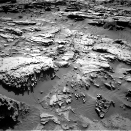 Nasa's Mars rover Curiosity acquired this image using its Right Navigation Camera on Sol 1284, at drive 1942, site number 53