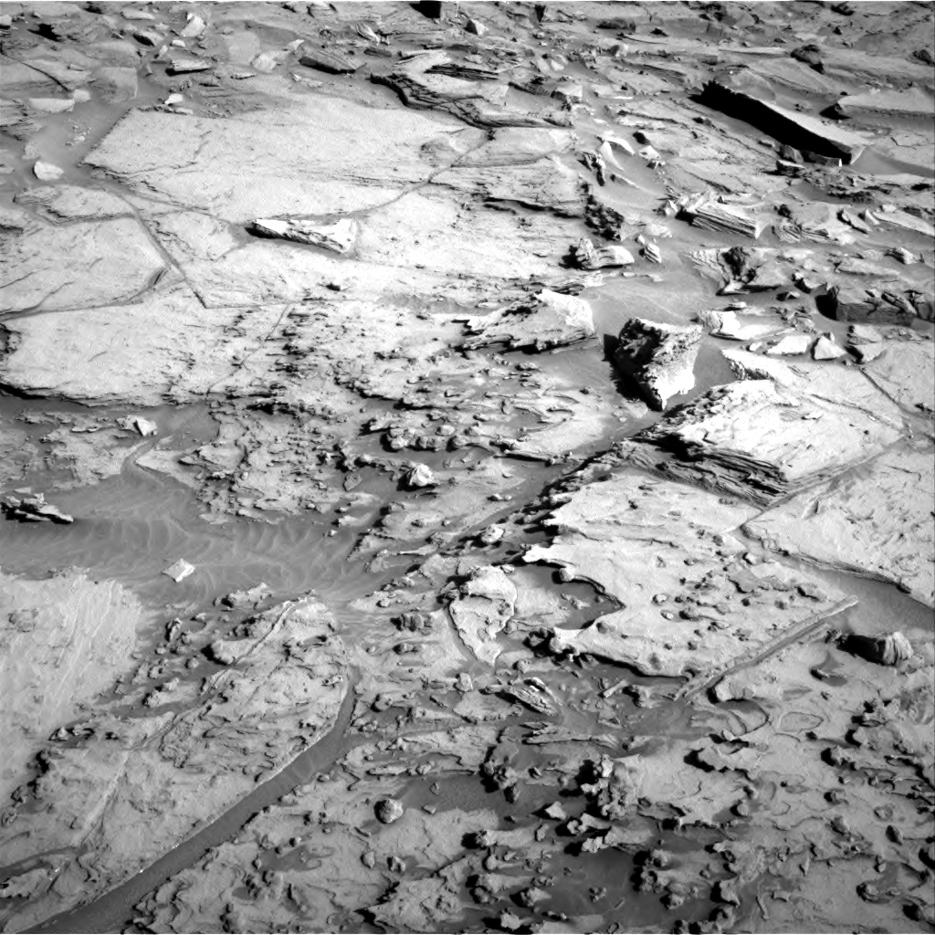 Nasa's Mars rover Curiosity acquired this image using its Right Navigation Camera on Sol 1284, at drive 1954, site number 53